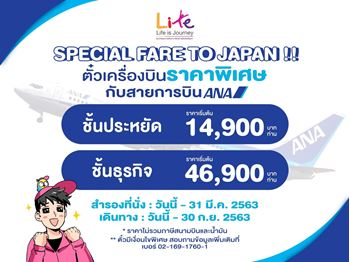 ANA Special fare to Japan